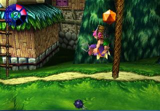 Screenshot Thumbnail / Media File 1 for Tomba! 2 - The Evil Swine Returns [U]